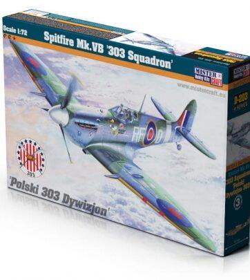 Zdjęcie Model samolotu do sklejania Supermarine Spitfire Mk.VB 1:72 D-203 - producenta OLYMP AIRCRAFT