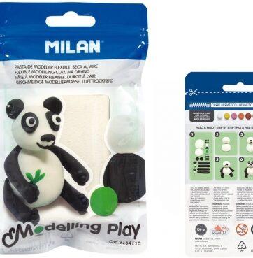 Zdjęcie Modelina Air-Dry 100g biała - Milan - producenta MILAN