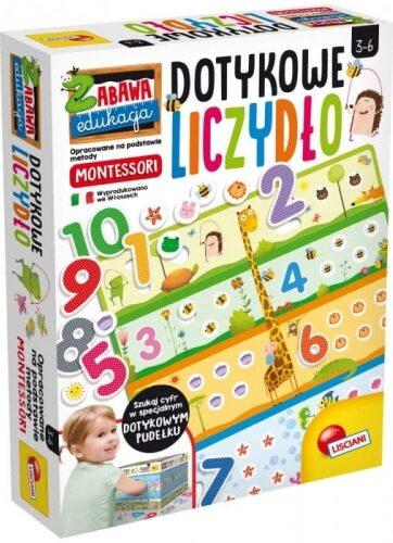 Zdjęcie Montessori - Dotykowe liczydło - producenta LISCIANI GIOCHI