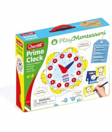 Zdjęcie Montessori Play - Pierwszy zegar - producenta QUERCETTI