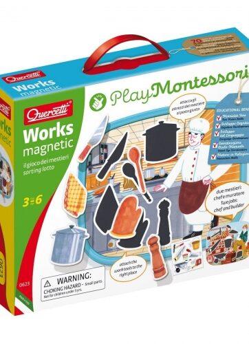 Zdjęcie Montessori Play - Układanka magnetyczna Zawody - producenta QUERCETTI