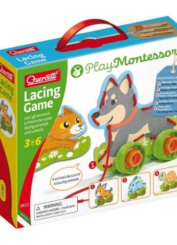 Zdjęcie Montessori Wiązanka sznurowanka zwierzątka - Quercetti - producenta QUERCETTI