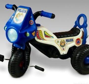Zdjęcie Motor na pedały jeździk Policja - producenta MARGOS