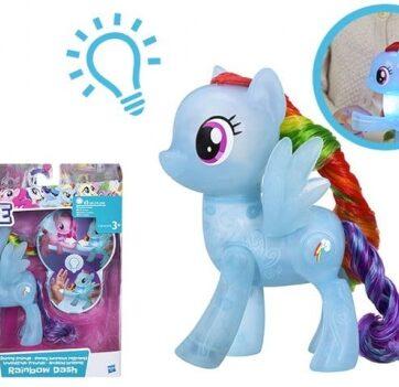 Zdjęcie My Little Pony MOVIE Świecące kopytka (mix wzorów) - producenta HASBRO