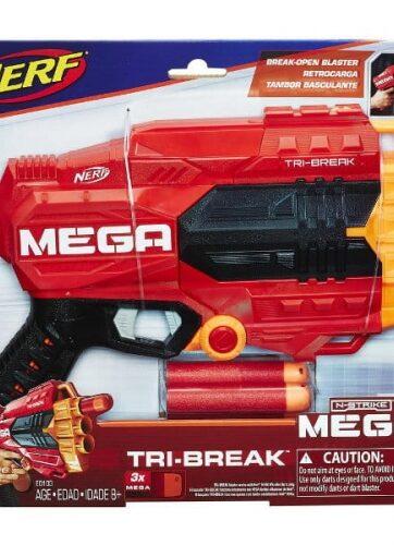 Zdjęcie NERF N-Strike Mega Tri-Break - producenta HASBRO