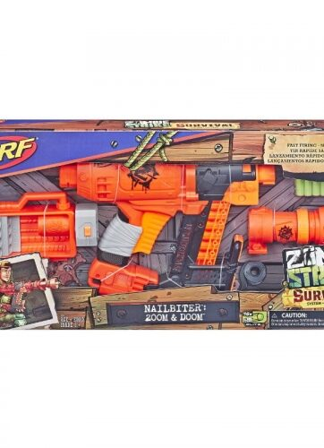 Zdjęcie NERF Zombie Nailbiter Zoom and Doom - producenta HASBRO