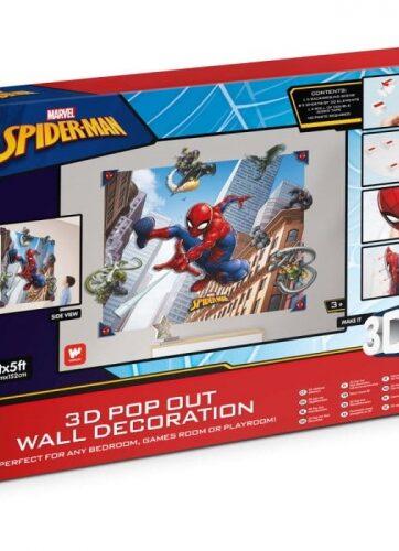 Zdjęcie Naklejka na ścianę 3D Spider-Man