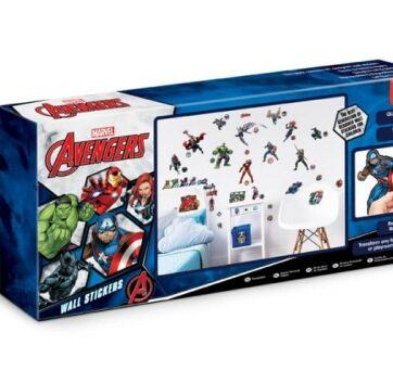Zdjęcie Naklejki ścienne zestaw Avengers