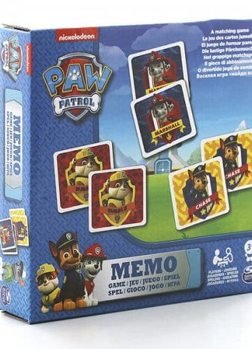 Zdjęcie PSI PATROL Gra memory 48 kart - producenta SPIN MASTER
