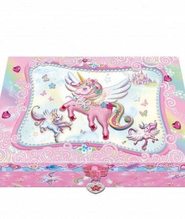 Zdjęcie Pamiętnik z akcesoriami w ozdobnym pudełku Jednorożec - producenta PULIO