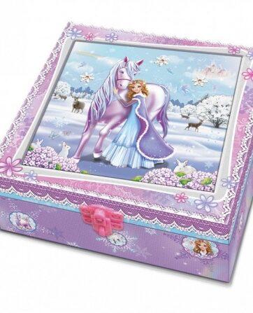 Zdjęcie Pamiętnik z akcesoriami w ozdobnym pudełku Koń - producenta PULIO