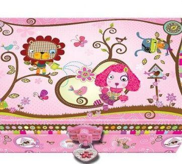 Zdjęcie Pamiętnik z akcesoriami w ozdobnym pudełku Zwierzątka - producenta PULIO