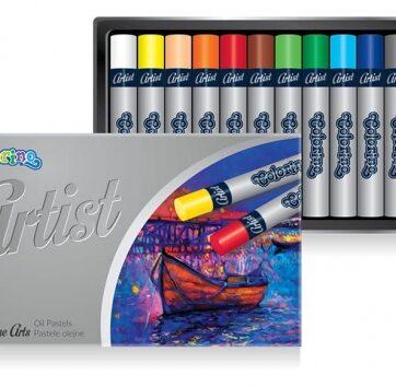 Zdjęcie Pastele olejne 12 kolorów - Artist Colorino Kids - producenta PATIO