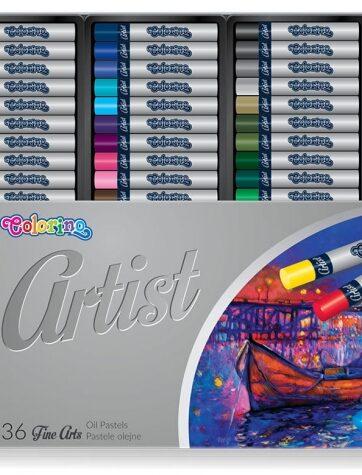 Zdjęcie Pastele olejne 36 kolorów Artist - Colorino Kids - producenta PATIO