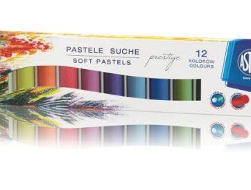 Zdjęcie Pastele suche okrągłe 12 kolorów Astra Prestige - producenta ASTRA