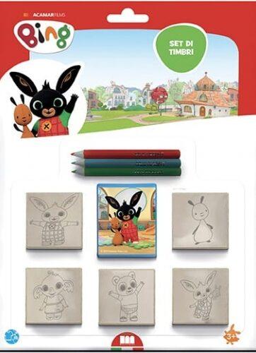 Zdjęcie Pieczątki dla dzieci 5 sztuk - Bing - producenta DANTE