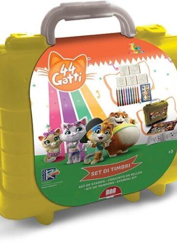 Zdjęcie Pieczątki dla dzieci zestaw podróżny - 44 Koty - producenta DANTE