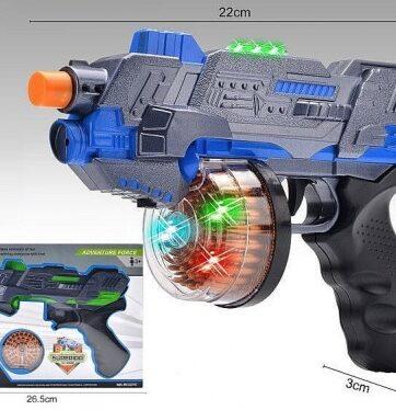 Zdjęcie Pistolet zabawkowy na baterie - producenta ADAR