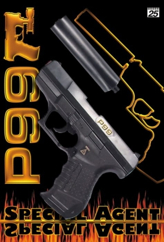 Zdjęcie Pistolet zabawkowy na kapiszony 25-shot 180mm - producenta SOHNI - WICKE