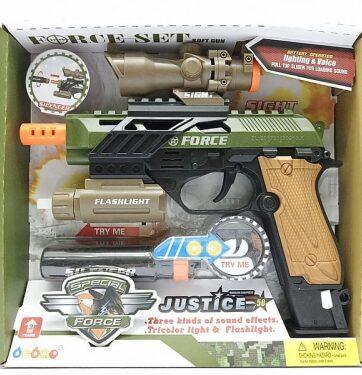 Zdjęcie Pistolet zabawkowy światło dźwięk - producenta ADAR