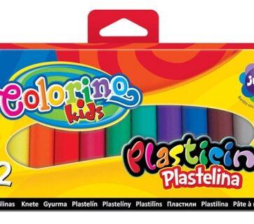 Zdjęcie Plastelina 12 kolorów - Colorino Kids - producenta PATIO