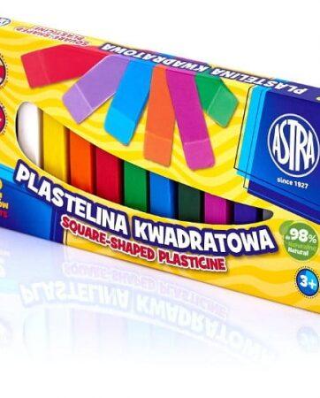 Zdjęcie Plastelina 12 kolorów kwadratowa ASTRA - producenta ASTRA