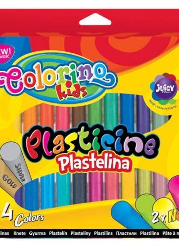 Zdjęcie Plastelina 24 kolory - Colorino Kids - producenta PATIO