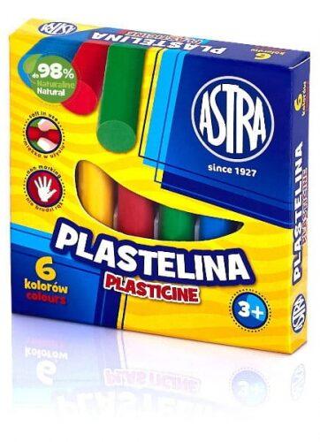 Zdjęcie Plastelina 6 kolorów - Astra - producenta ASTRA