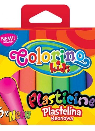 Zdjęcie Plastelina 6 kolorów Neon - Colorino Kids - producenta PATIO