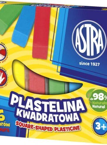 Zdjęcie Plastelina 6 kolorów kwadratowa - Astra - producenta ASTRA
