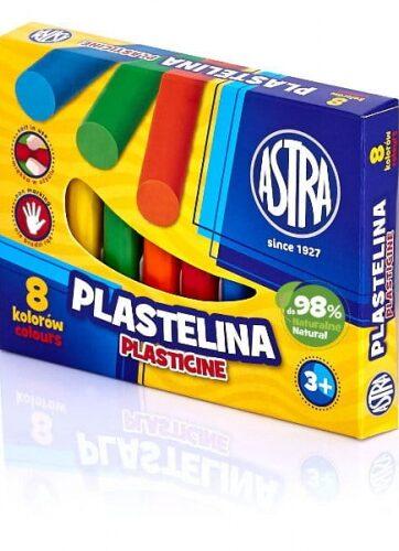Zdjęcie Plastelina 8 kolorów ASTRA - producenta ASTRA