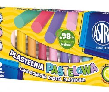 Zdjęcie Plastelina pastelowa 12 kolorów ASTRA - producenta ASTRA