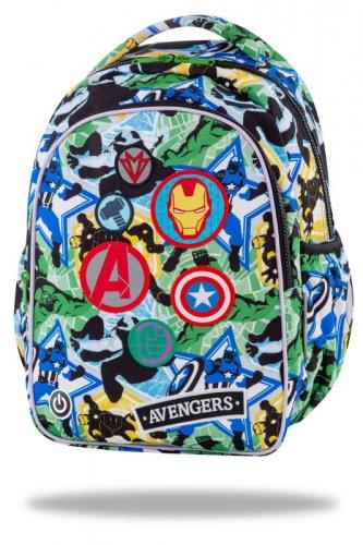 Zdjęcie Plecak 2 komorowy Avengers Badges JOY S LED - producenta PATIO