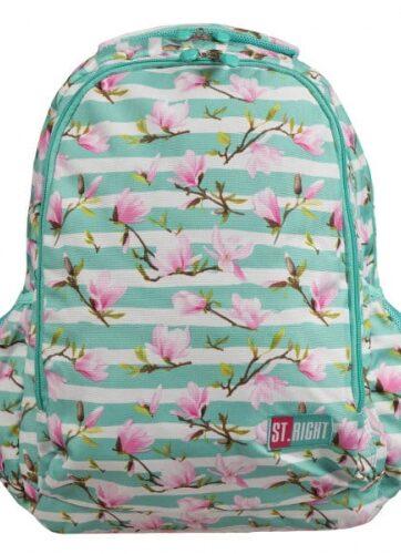 Zdjęcie Plecak 2-komorowy ST.RIGHT BP-47 Kwiat magnolii - producenta MAJEWSKI