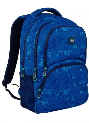 Zdjęcie Plecak 25l duży niebieski - Milan - producenta MILAN