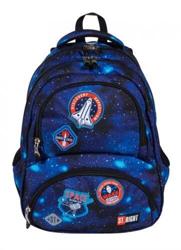 Zdjęcie Plecak 4-komorowy ST.RIGHT BP-07 Misja kosmiczna - producenta MAJEWSKI