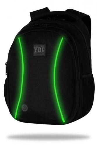 Zdjęcie Plecak JOY L LED green + powerbank 4000 mAh CoolPack - producenta PATIO