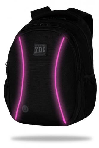 Zdjęcie Plecak JOY L LED pink + powerbank 4000 mAh CoolPack - producenta PATIO