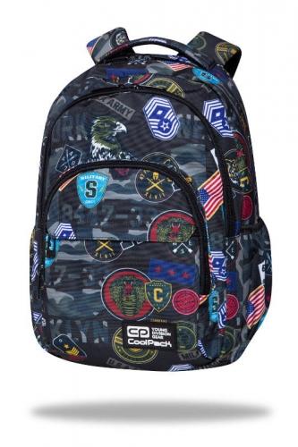 Zdjęcie Plecak Młodzieżowy Basic Plus Military Patches - CoolPack - producenta PATIO