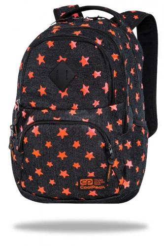 Zdjęcie Plecak młodzieżowy - Dart Denim Orange Stars - CoolPack - producenta PATIO