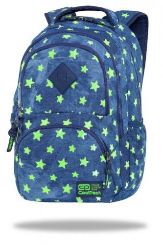 Zdjęcie Plecak młodzieżowy - Dart Denim Yellow Stars - CoolPack - producenta PATIO