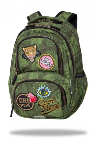 Zdjęcie Plecak młodzieżowy Spiner Termic zielony Badges - CoolPack - producenta PATIO