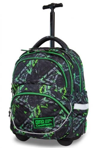 Zdjęcie Plecak młodzieżowy na kółkach - Starr Electric Green - CoolPack - producenta PATIO