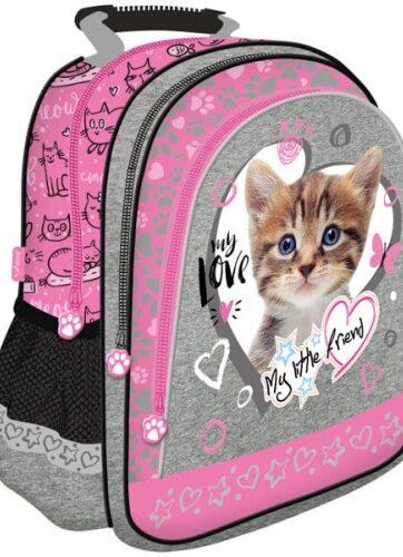 Zdjęcie Plecak szkolny - My Little Friend kot różowy - producenta MAJEWSKI