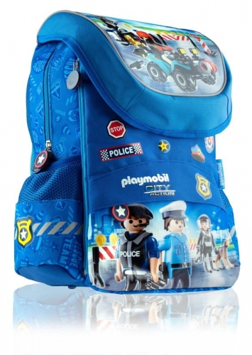 Zdjęcie Plecak szkolny dziecięcy Police Playmobil - producenta ASTRA