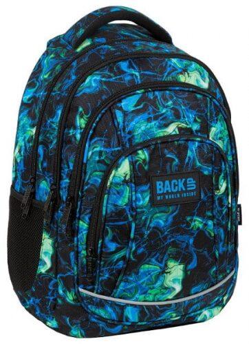 Zdjęcie Plecak szkolny niebiesko zielony BACKUP - producenta DERFORM