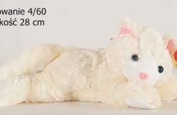 Zdjęcie Pluszak kremowy kotek 28 cm - Deef - producenta DEEF