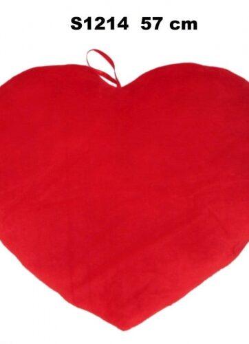Zdjęcie Pluszowe czerwone serce z kokardą - producenta SUN-DAY