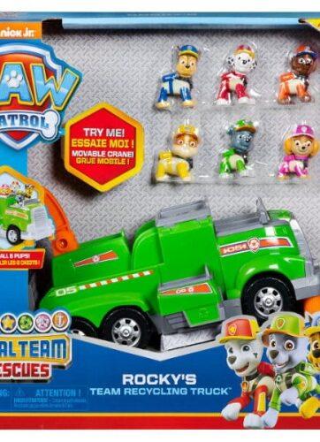 Zdjęcie Psi Patrol Śmieciarka Rocky'ego Total Team Rescue - producenta SPIN MASTER