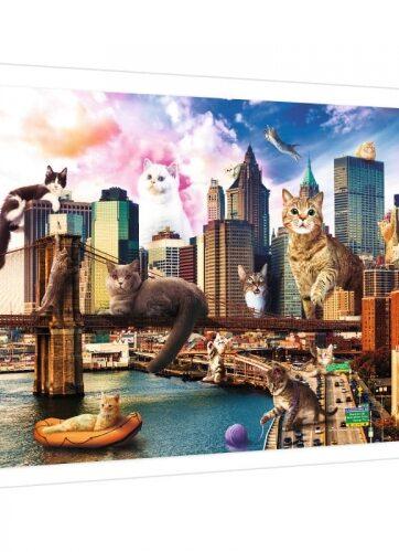 Zdjęcie Puzzle 1000 elementów - Koty w Nowym Jorku - Trefl - producenta TREFL